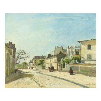 Rue Notre Dame Paris by Johan Barthold Jongkind Photo Print