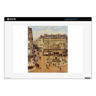 "Rue Saint Honore Morning Sun Effect, Place 15"" Laptop Skin"