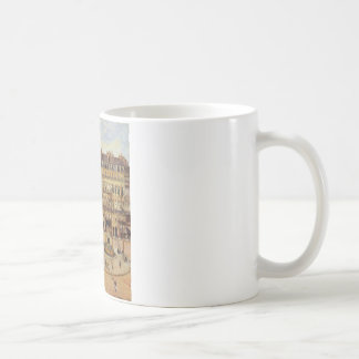 Rue Saint Honore Morning Sun Effect, Place Coffee Mug