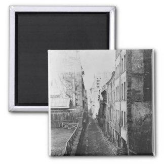 Rue Saint-Nicolas-du-Chardonnet 2 Inch Square Magnet