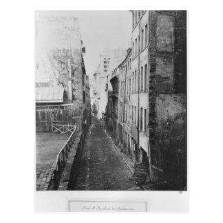 Rue Saint-Nicolas-du-Chardonnet Postcard