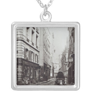 Rue Saint-Severin Silver Plated Necklace