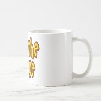 Rue The Sprue Classic White Coffee Mug