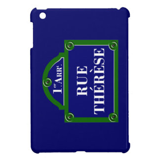 Rue Therese Paris Street Sign iPad Mini Cover