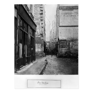 Rue Tirechape, from rue de Rivoli, Paris Postcard