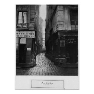 Rue Tirechape, from rue St. Honore, Paris Poster