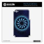 Rueda abstracta de la mandala calcomanía para iPod touch 4G