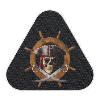 Rueda alegre del pirata de Rogelio Altavoz Bluetooth