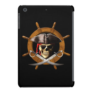 Rueda alegre del pirata de Rogelio Fundas De iPad Mini Retina