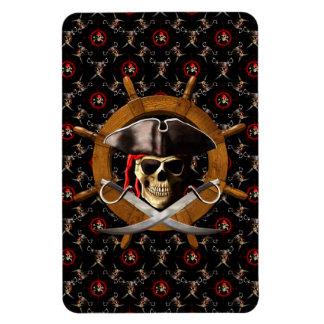 Rueda alegre del pirata de Rogelio Imán Flexible