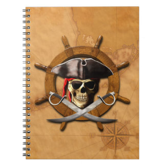 Rueda alegre del pirata de Rogelio Libreta
