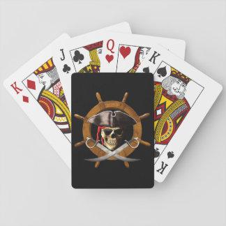 Rueda alegre del pirata de Rogelio Cartas De Póquer