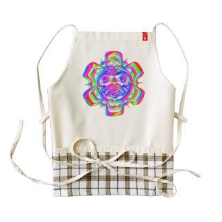 Rueda azteca delantal zazzle HEART