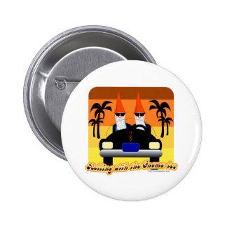 Rueda con el Gnom-IES Pin Redondo De 2 Pulgadas