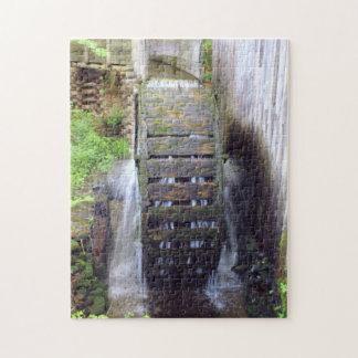 Rueda de agua puzzle con fotos