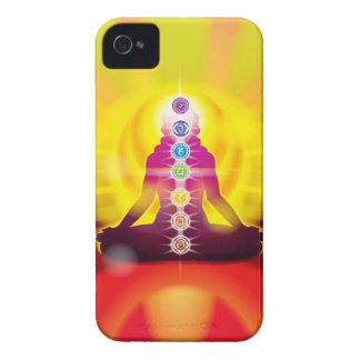 Rueda de Chakra del caso del iPhone 4 de la vida Case-Mate iPhone 4 Protector