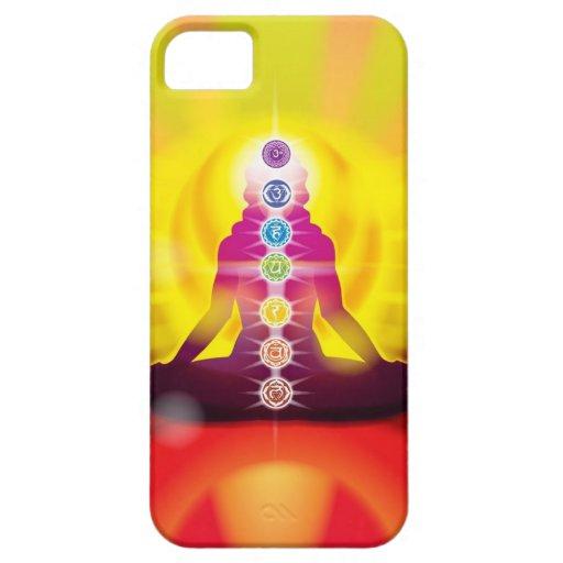 Rueda de Chakra del caso del iPhone 5 de la vida iPhone 5 Carcasa