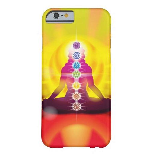 Rueda de Chakra del caso del iPhone 6 de la vida Funda De iPhone 6 Barely There