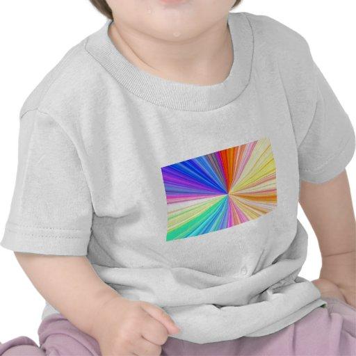 Rueda de color ART101 Camisetas