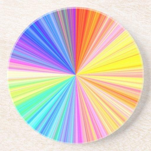 Rueda de color ART101 Posavasos Manualidades