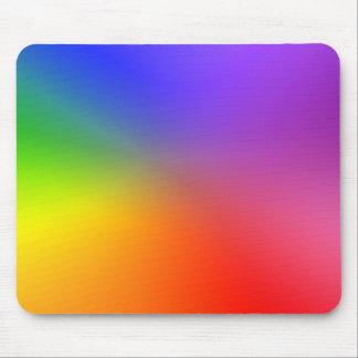 Rueda de color: Colores abstractos Alfombrilla De Ratones