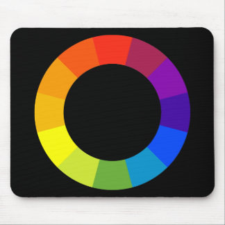 rueda de color tapetes de ratones
