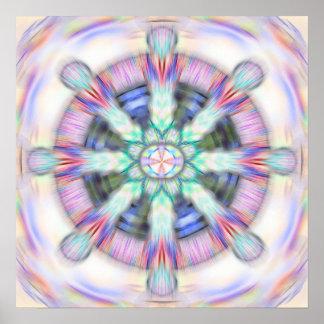 Rueda de Dharma Poster