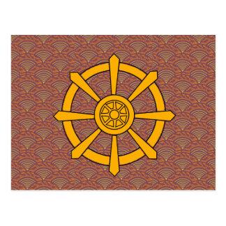 Rueda de Dharma Postal