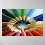 Rueda de la carta de color impresiones
