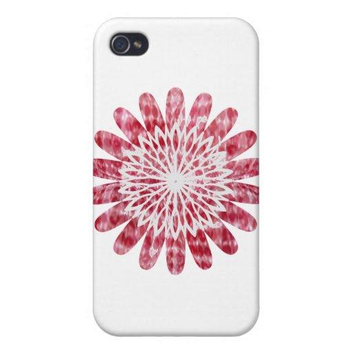 Rueda de la energía del girasol de NOVINO iPhone 4/4S Funda