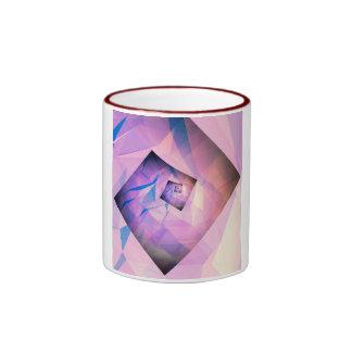 Rueda de la esquina cuatro taza de dos colores