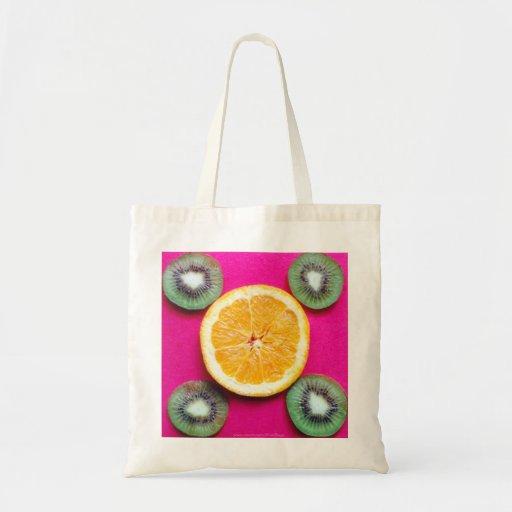 """""""Rueda de la fruta """" Bolsa Tela Barata"""