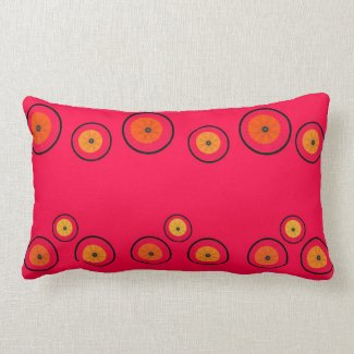 Rueda de la fruta cítrica almohada