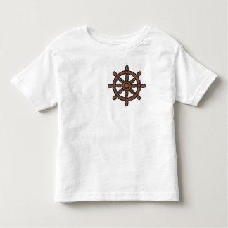Rueda de la nave camisetas
