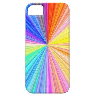 Rueda de la sombra del color - extremo del arco funda para iPhone SE/5/5s