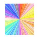 Rueda de la sombra del color - extremo del arco ir bloc