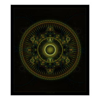 Rueda de Magick de Metatron Posters