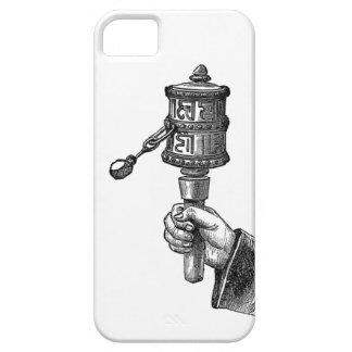Rueda de rogación de Tíbet iPhone 5 Carcasas
