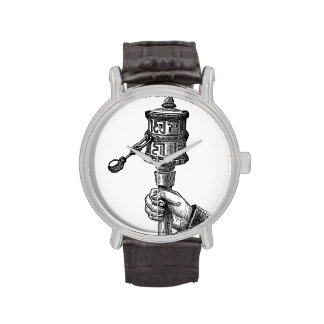 Rueda de rogación relojes de pulsera