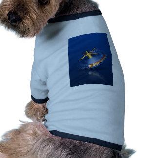 Rueda de ruleta camisa de perro