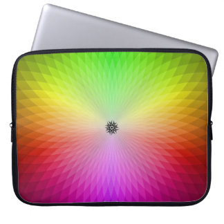 Rueda del arco iris mangas computadora