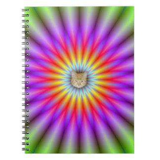 Rueda del cuaderno del color