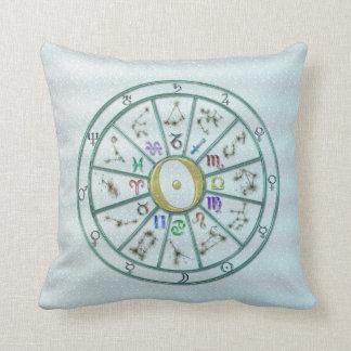 Rueda del zodiaco de la astrología +regalo cojín