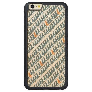Rueda en la caja del teléfono de la repetición funda de arce bumper carved® para iPhone 6 plus