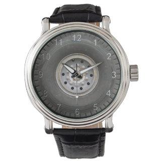 Rueda grande relojes de pulsera