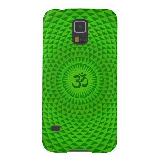 Rueda OM de la meditación de la flor de Lotus del  Carcasas Para Galaxy S5