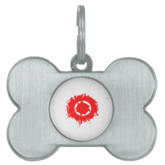 rueda placas de mascota