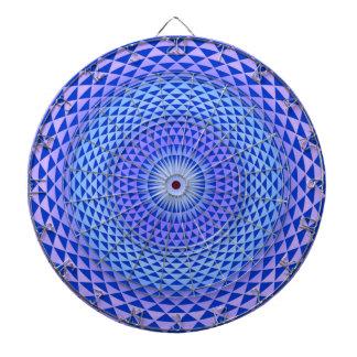 Rueda púrpura OM de la meditación de la flor de