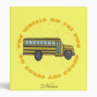 Ruedas conocidas de encargo del autobús escolar