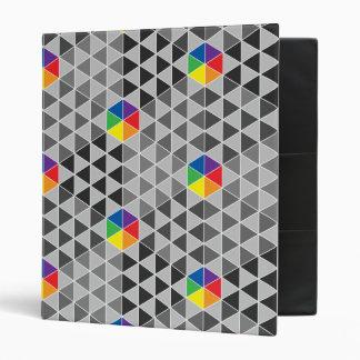 Ruedas de color geométricas
